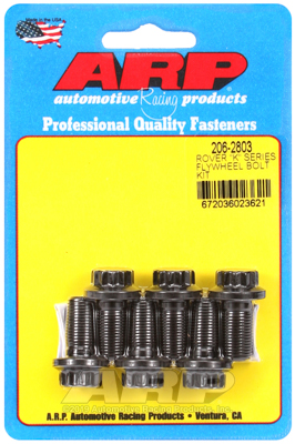 Vliegwielbout Flywheel Bolt Kit Rover K-series 6 pieces Kit 206-2803