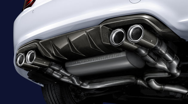 BMW M Performance Diffusor, Carbon