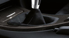 BMW M Performance Versnellingpook-hoes, Alcantara