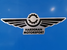 Sticker Hardeman Motorsport 40cm breed
